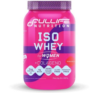 Iso Whey for Women + Colágeno 907g - Fullife Nutrition