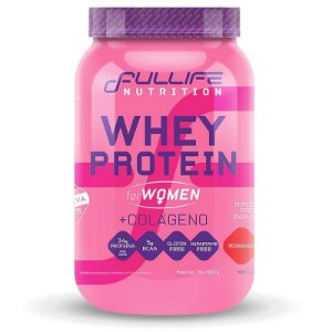 Whey Protein For Women + Colágeno 907g - Fullife Nutrition