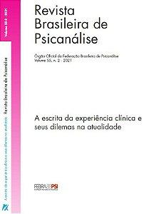 v. 55 nº 2 - A escrita da experiência clínica e seus dilemas na atualidade