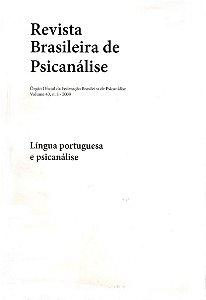 v.43 nº1 - Língua portuguesa e psicanálise