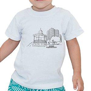 Camiseta - Kit para pintar Praça Liberdade