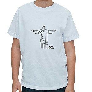 Camiseta - Kit para pintar Cristo Redentor