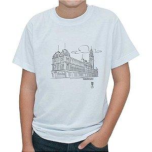 Camiseta - Kit para pintar Estação da Luz