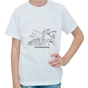 Camiseta - Kit para pintar Monumentos às Bandeiras