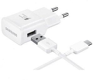 Carregador Turbo Samsung USB Tipo C 1ª Linha