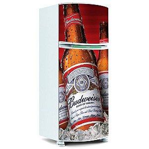 ADESIVO DE GELADEIRA - Cerveja budweiser