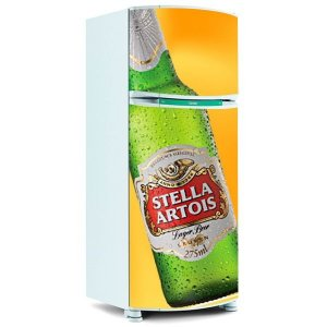 ADESIVO DE GELADEIRA - Cerveja Stella Artois
