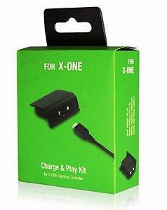 Kit 2 Baterias Carregador Controle Xbox One