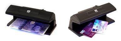 Detector Luz Ultravioleta de Notas Falsas, CNH e Cheques