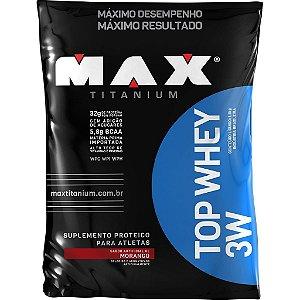 Top Whey 3w 1800g - Max Titanium