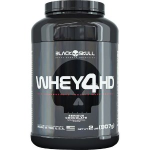 Whey 4HD 907g – Black Skull