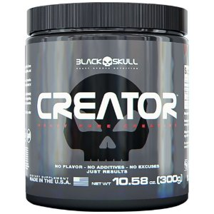 Creatina Creator 300g - Black Skull
