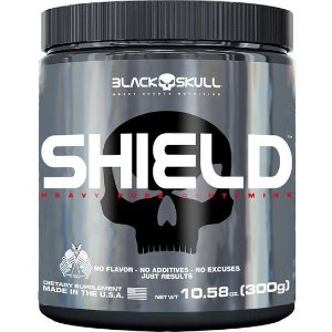 Glutamina Shield 300g - Black Skull