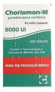 HCG Humano Choriomon-M 5000ui Original