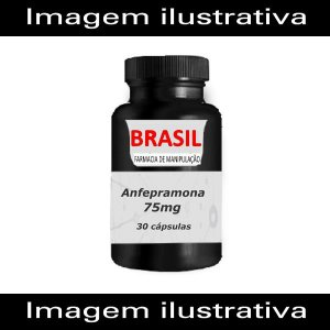 Anfepramona 75mg 30 caps (Dualid) - Manipulado
