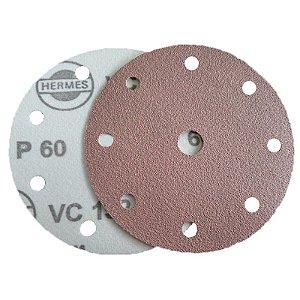 DISCO DE LIXA COM VELCRO 150mm HERMES G60-80