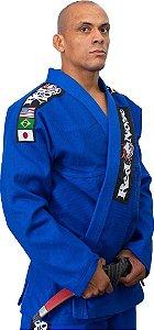 Kimono Red Nose Top World Jiu-Jitsu - Azul