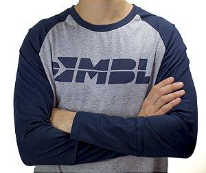Camiseta Raglan Manga Longa