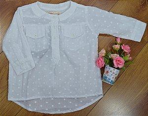 Camisa Branca Toque de Neve