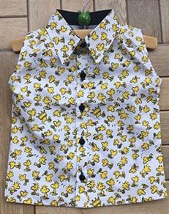 Camisa Regata Woodstock
