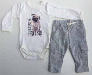 Conjunto body e calça cargo Best Friend