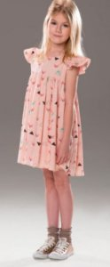 Vestido Raposinha Rose