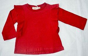 Camiseta Mariposa Vermelha