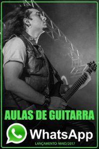 Aulas de Guitarra por WhatsApp - ticket mensal