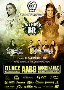 Ingresso: Guitarra BR em Jacobina (BA)