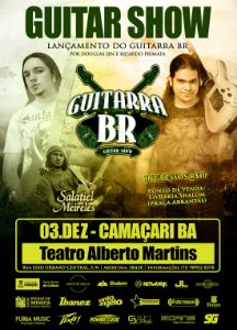 Ingresso: Guitarra BR em Camaçari (BA)