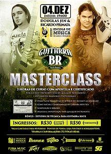 Ingresso: Masterclass Guitarra BR em Salvador (BA)