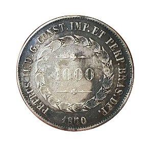 Moeda Antiga do Brasil 1000 Réis 1850