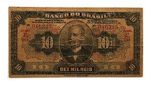 Cédula Antiga do Brasil 10 Mil Réis 1923