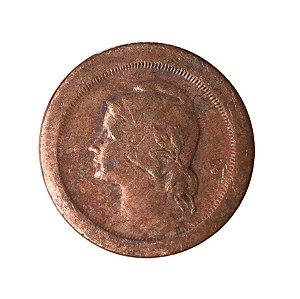 Moeda Antiga de Portugal 5 Centavos 1924