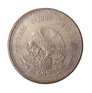 Moeda Antiga do México 5 Pesos 1948
