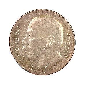 Moeda Antiga do Brasil 5000 Réis 1936 - Santos Dumont