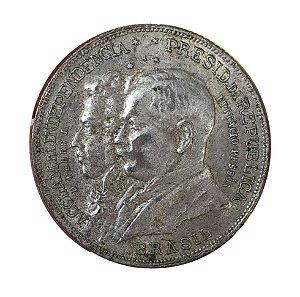 Moeda Antiga do Brasil 2000 Réis 1922 - 1º Centenário da Independência do Brasil
