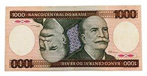 Cédula Antiga do Brasil 1000 Cruzeiros 1981