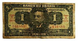 Cédula Antiga do Brasil 1 Mil Réis 1923