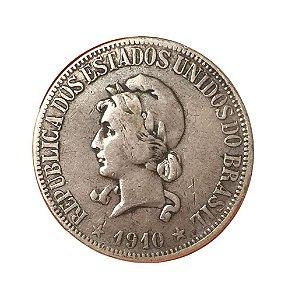 Moeda Antiga do Brasil 1000 Réis 1910