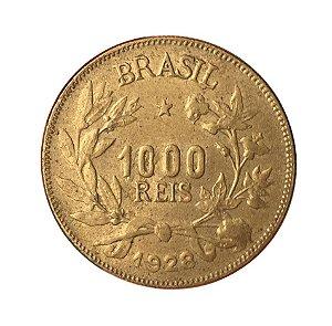 Moeda Antiga do Brasil 1000 Réis 1928