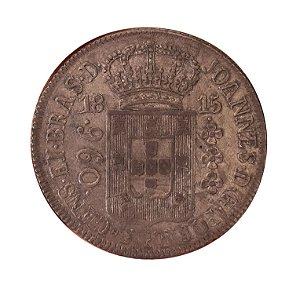 Moeda Antiga do Brasil Colonial 960 Réis 1815 R