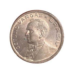 Moeda Antiga do Brasil 50 Centavos de Cruzeiro 1942 - Getúlio Vargas