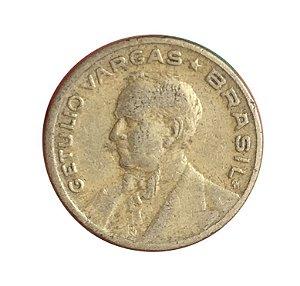 Moeda Antiga do Brasil 20 Centavos de Cruzeiro 1943 - Getúlio Vargas