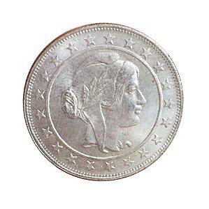 Moeda Antiga do Brasil 2000 Réis 1934