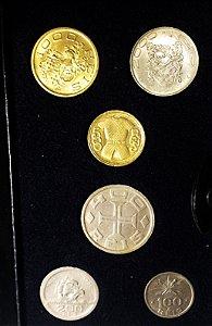 Conjunto Moeda Antiga do Brasil 4. Cent. da Colonização