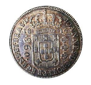 Moeda Antiga do Brasil 960 Réis 1814 B