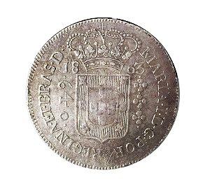 Moeda Antiga do Brasil 640 Réis 1803B
