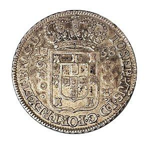 Moeda Antiga do Brasil 640 Réis 1758B