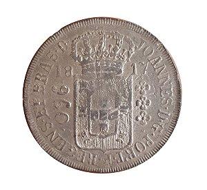 Moeda Antiga do Brasil Colônia 960 Réis 1817 R